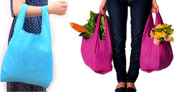 Funny Toolの長持ち買い物袋の使用例