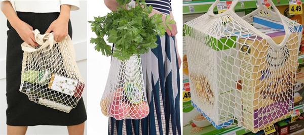 SakuraBestの長持ち買い物袋の使用例