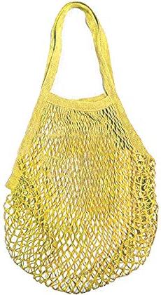 Sokeyの黄色い長持ち買い物袋