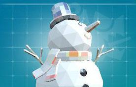 ピックスアーク:雪だるま