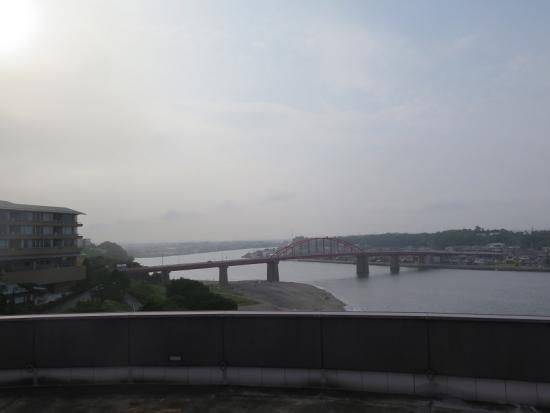 アクアワールド大洗からの景色