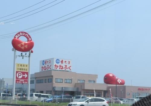 北関東自動車道 めんたいこミュージアム