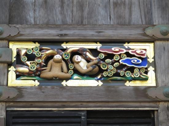 日光東照宮 三猿