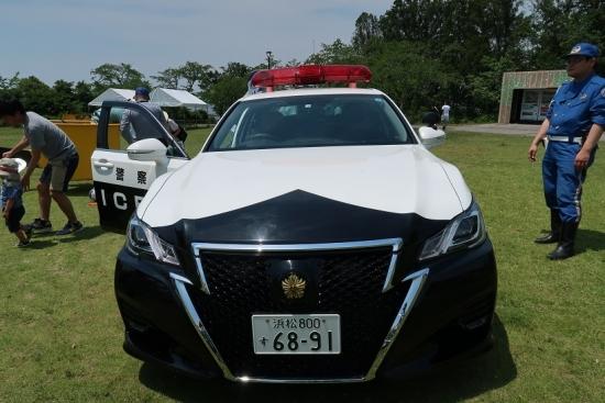 東名高速50周年 パトカー