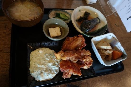瑞穂蔵さん 那須鶏のタルタルソース
