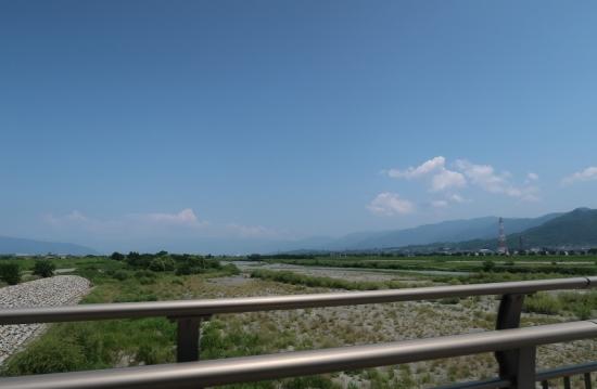 釜無川と笛吹川