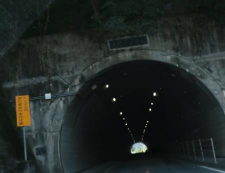山梨 大野トンネル