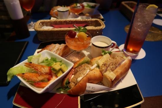 ブルーノート名古屋サンドイッチセット 2019年9月