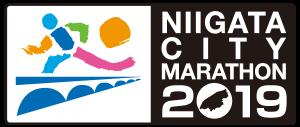 新潟マラソン2019ロゴ