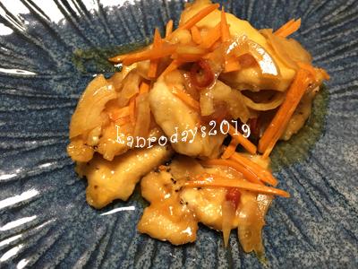 20190901_鶏胸肉の和風マリネ