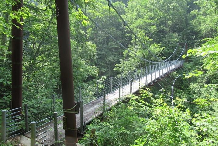 仙人釣り橋