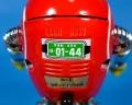 ロボット8ちゃん:ナンバープレート