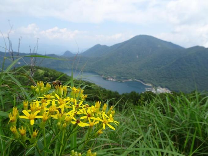 キオンと黒檜山