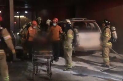 [韓国の反応]日本大使館前で車両が炎上 70代の男性が死亡「文在寅の扇動のせいで善良な市民が死んでしまったよ」の声