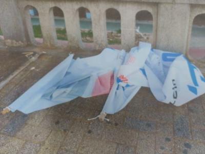 [韓国の反応]釜山で「NO JAPAN」の垂れ幕が何者かに傷つけられる「この国はまさしく共産化しているな。共産支持者の行動は黙認され正常な国民は弾圧される」