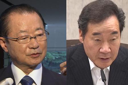 [韓国の反応]「李首相がGSOMIAと輸出管理問題をセットで解決と提案」を否定 日韓議連・河村建夫幹事長も発言を修正「日本人と会談するときはちゃんとビデオに撮って証拠に残さねばならない」
