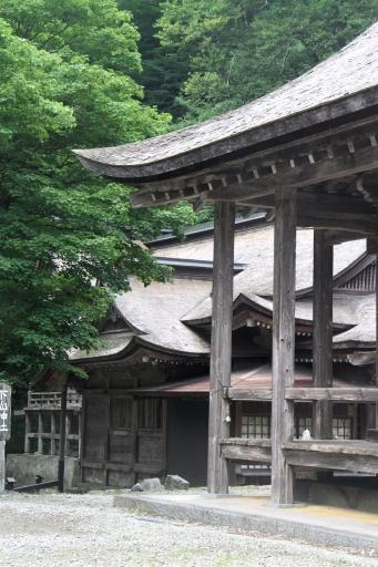大神山神社奥宮のお隣