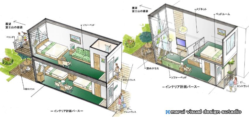 山中湖LCC RESORT HOTEL・イメージパース3