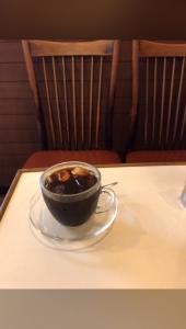 カフェの穏やかな時間
