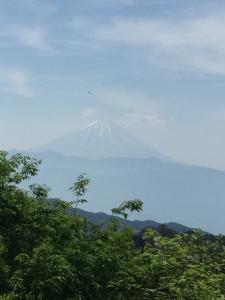 昇仙峡からの富士