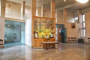ゾロアスター教寺院の内部