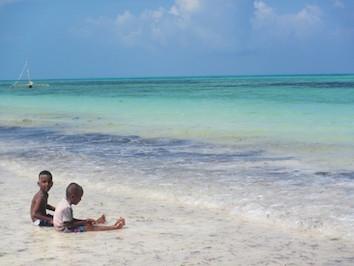 ザンジバルの海岸