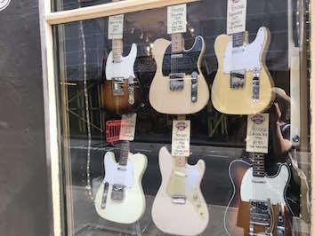 ギターのお店