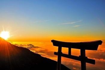 2019年8月会報富士山ご来光