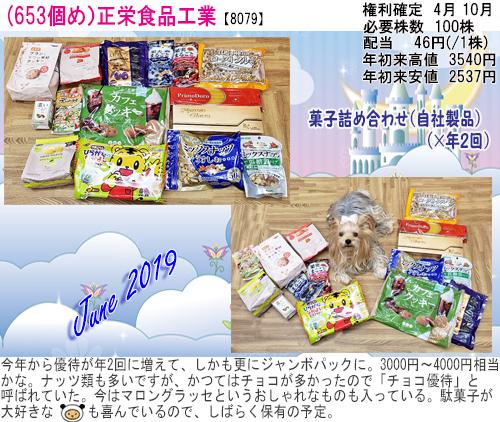 (653)2019年06月到着 正栄食品