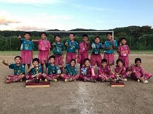 8.11(日)4年3年、扇FC招待写真⑪集合