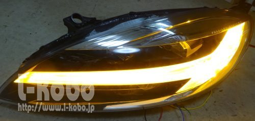 ボルボV40ヘッドライト