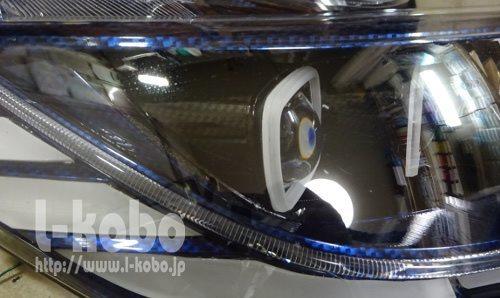 RCオデッセイヘッドライト加工2