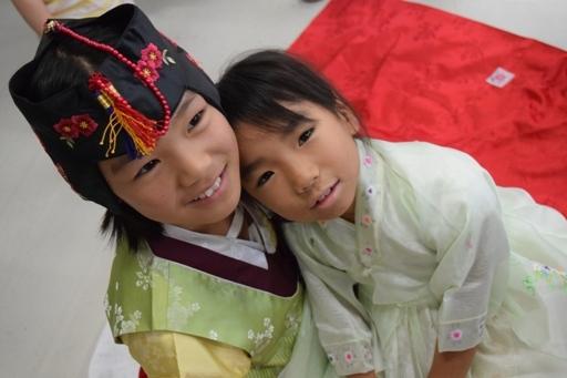 韓国民族衣装