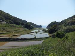 平戸の聖地と集落(春日集落と安満岳)