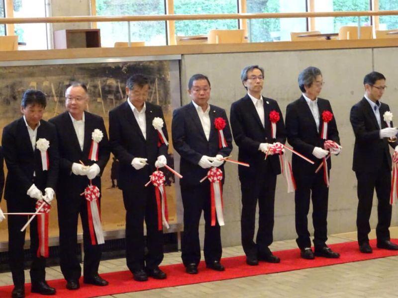 山口県立美術館開館40周年記念 コレクション特別展 オープニングセレモニー