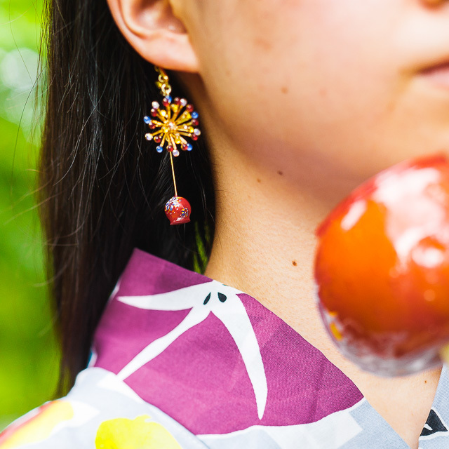 夏の思い出 りんご飴 着用カット_003