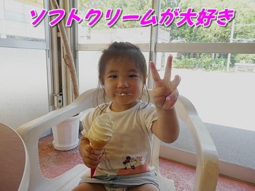 ソフトクリームが大好き