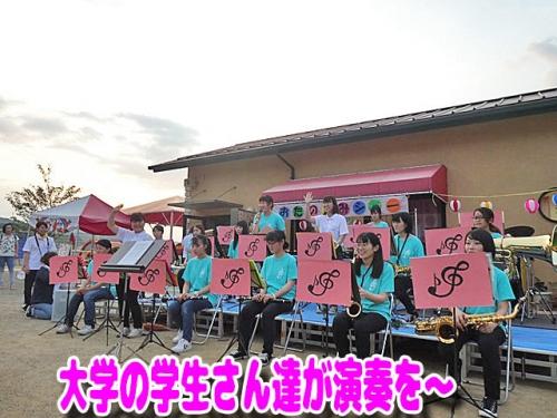 香川短大の学生さんたちが