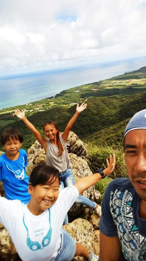 石垣島 山登り