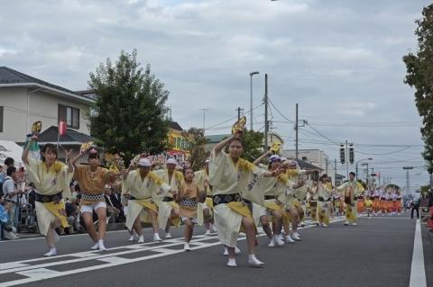 開成町阿波おどりパレード