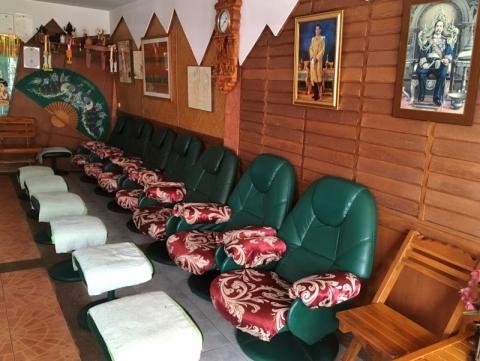 チェンライのマッサージ店