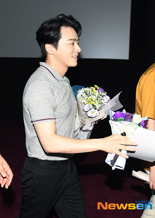 EXIT舞台挨拶ソウル1