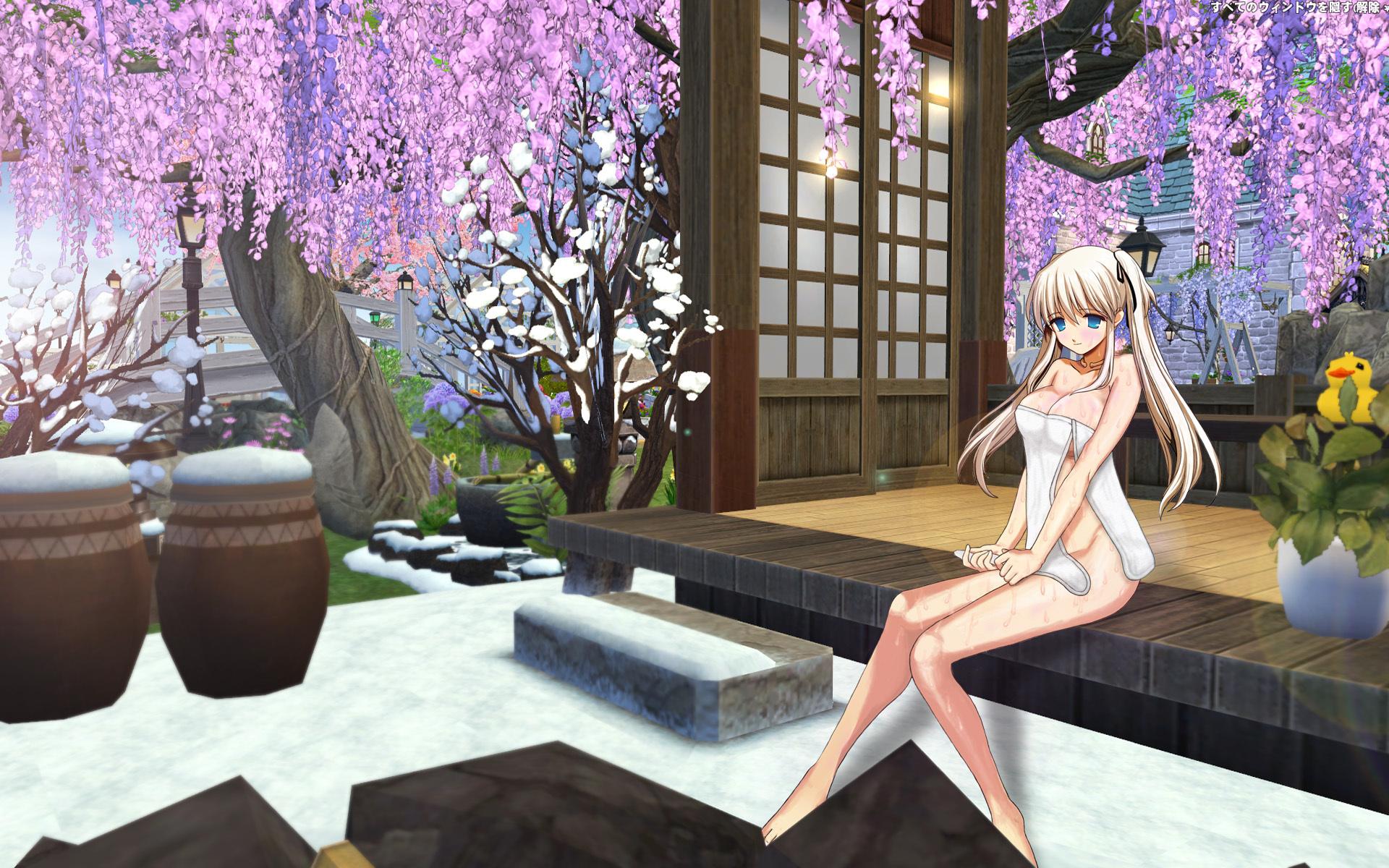 ナオさんの入浴(フジ花版)1