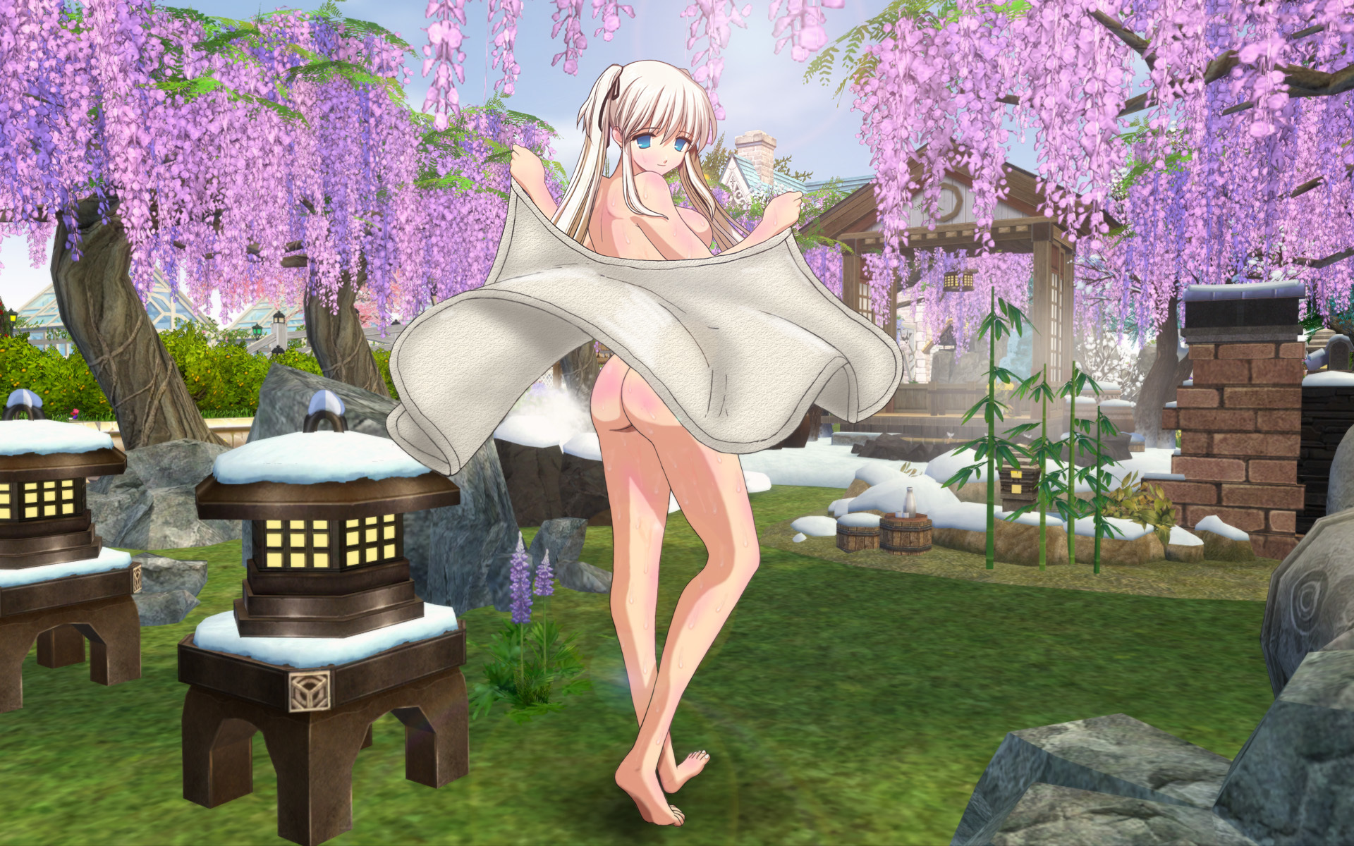 ナオさんの入浴(フジ花版)2