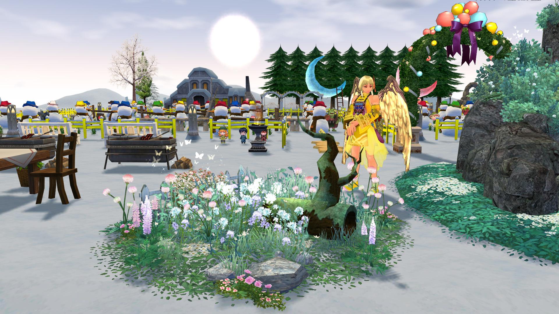 天上の花壇1