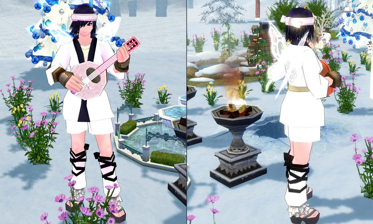 妖精フローラの ホワイトウィング