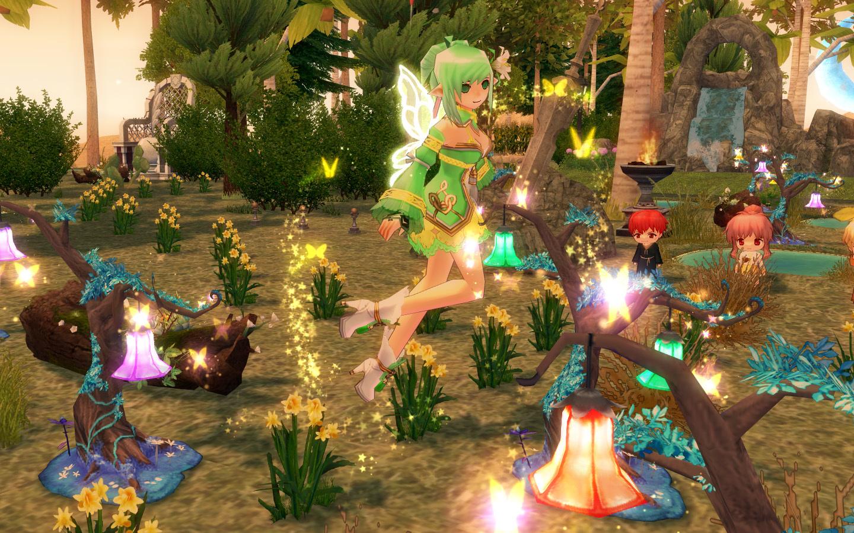 妖精フローラの イエローウィング2
