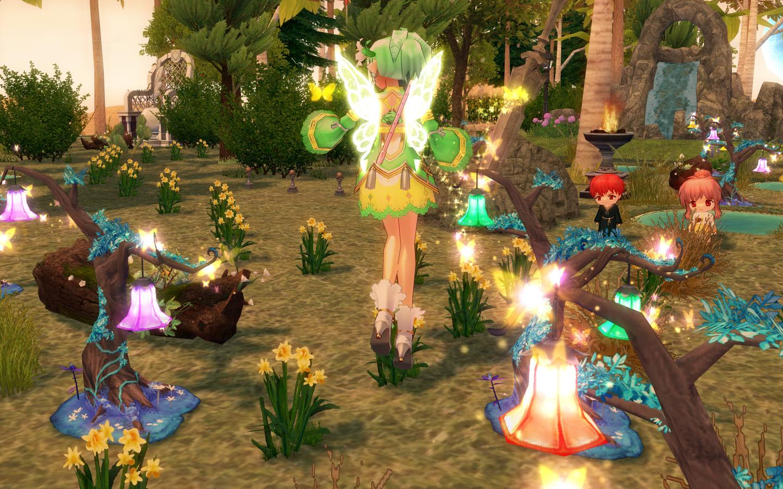 妖精フローラの イエローウィング3