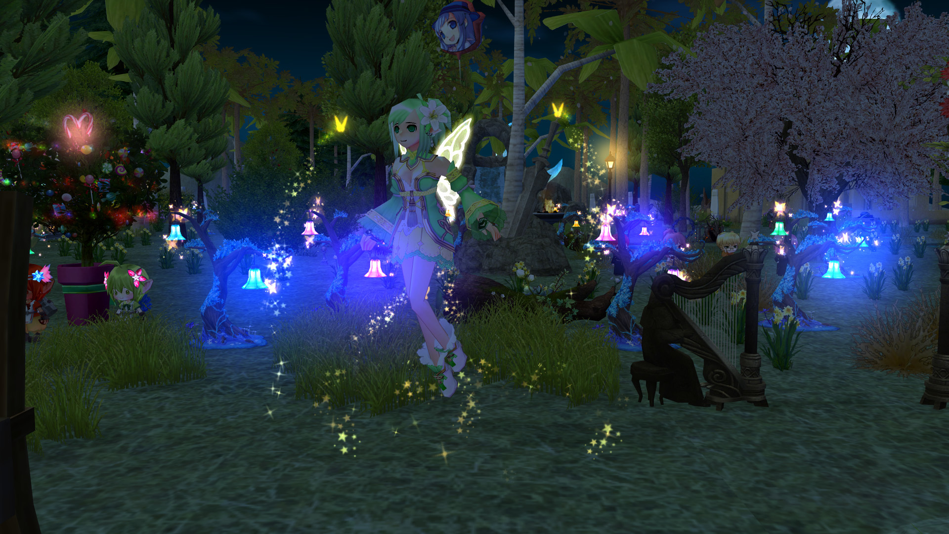 妖精フローラの イエローウィング4