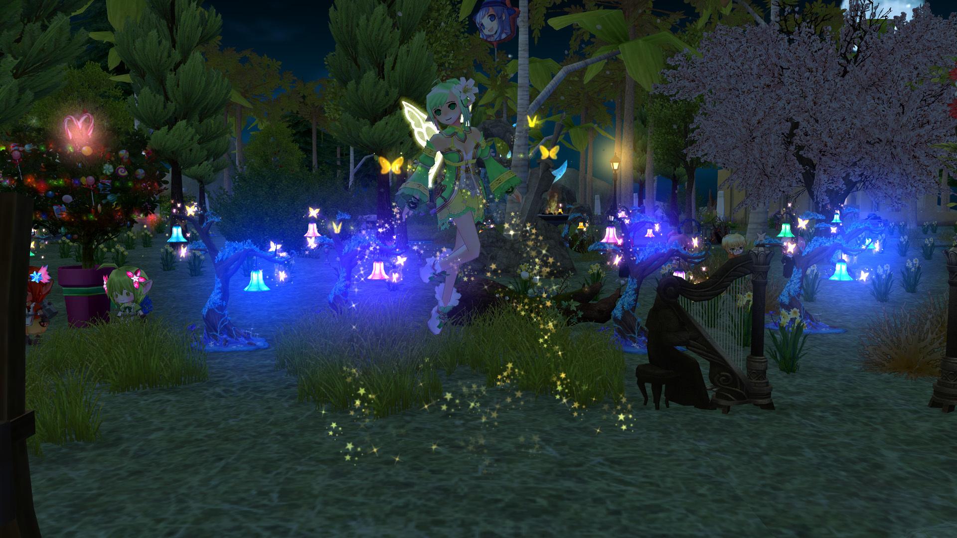 妖精フローラの イエローウィング5